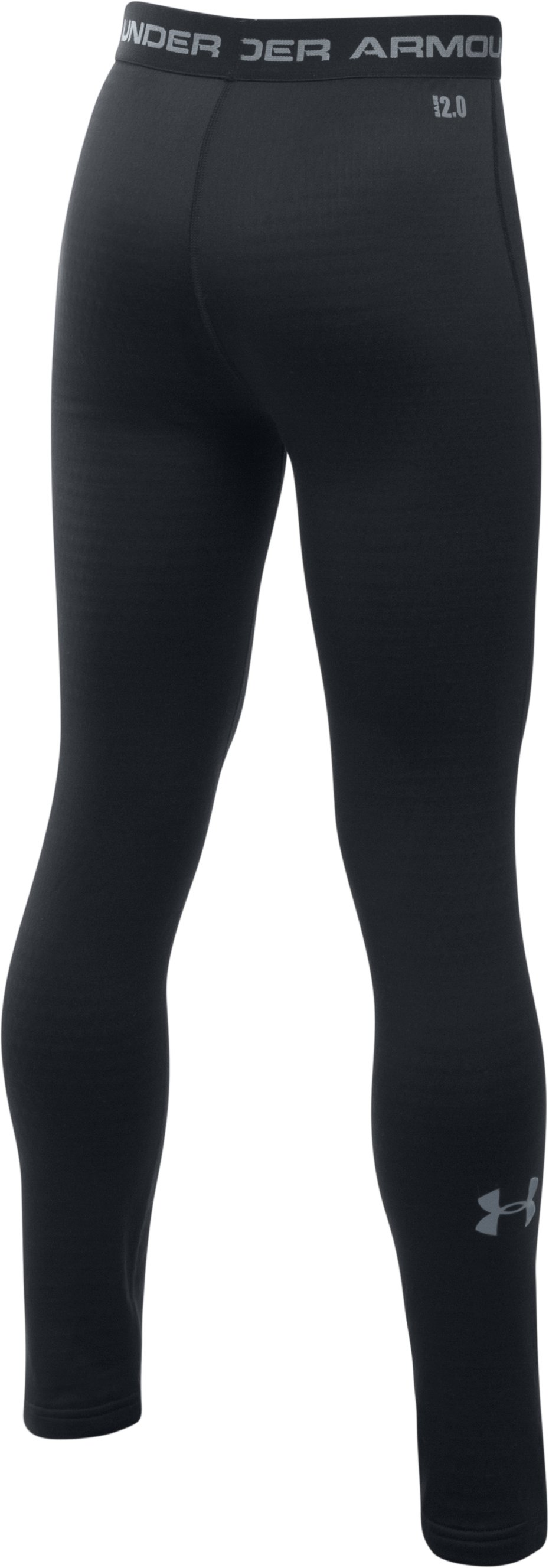 Boys' UA Base™ 2.0 Leggings, Black ,