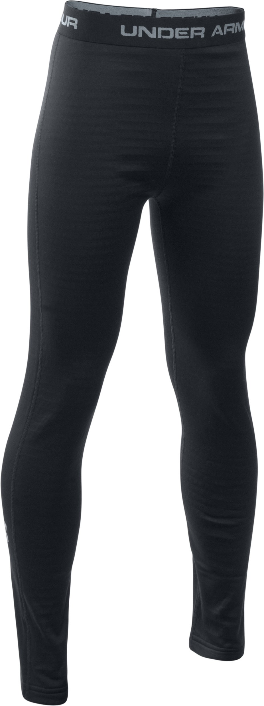 Boys' UA Base™ 2.0 Leggings, Black , zoomed image