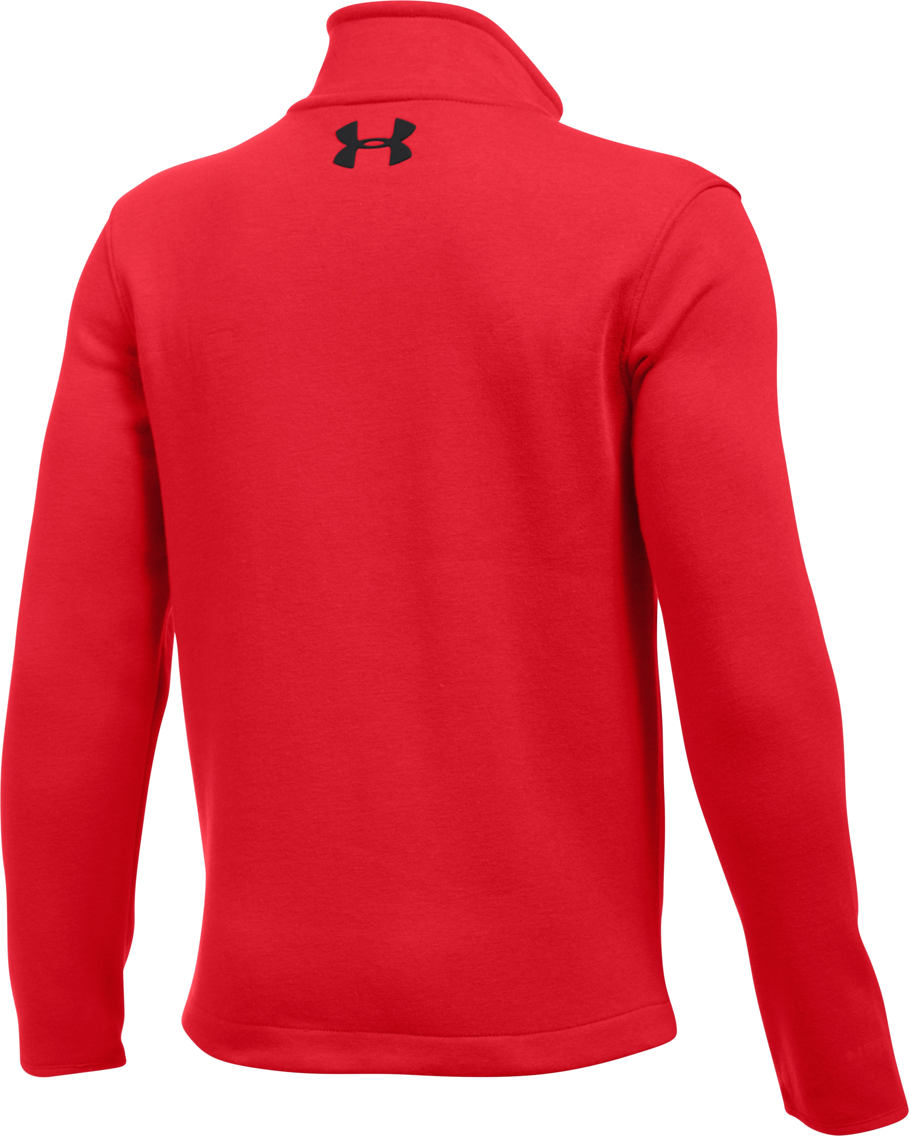 Boys' UA Granite Jacket, Red,