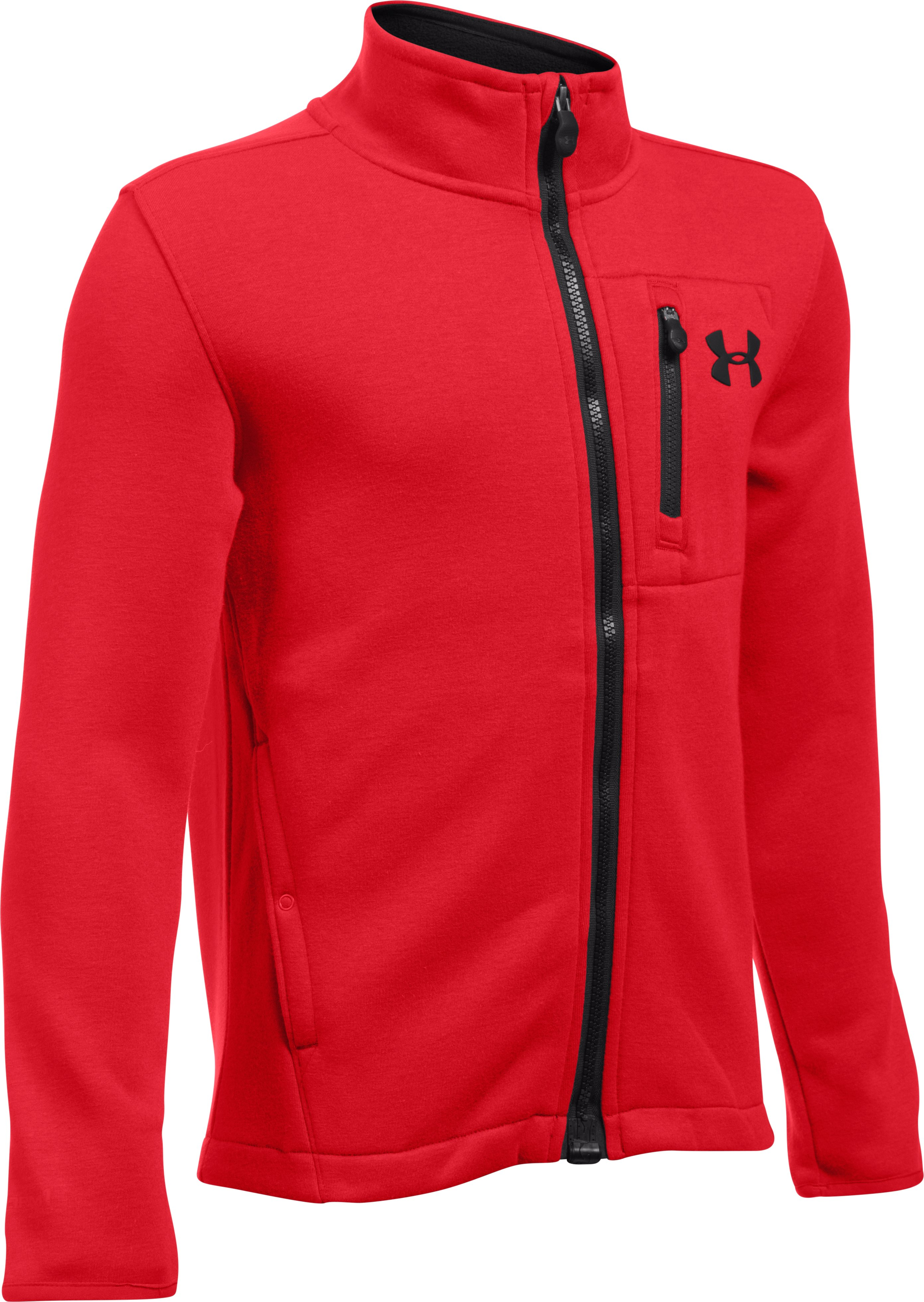 Boys' UA Granite Jacket, Red