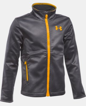 New to Outlet Boys' UA ColdGear® Infrared Softershell Jacket   $74.99