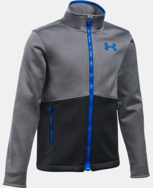 Boys' UA ColdGear® Infrared Softershell Jacket LIMITED TIME: FREE U.S. SHIPPING  $74.99