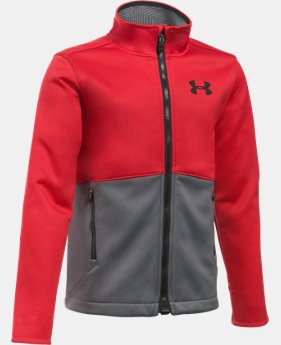 Boys' UA ColdGear® Infrared Softershell Jacket LIMITED TIME: FREE U.S. SHIPPING 1 Color $99.99