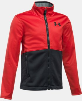 Boys' UA Storm Softershell Jacket  4 Colors $99.99