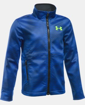 Boys' UA ColdGear® Infrared Softershell Jacket LIMITED TIME: FREE U.S. SHIPPING  $99.99
