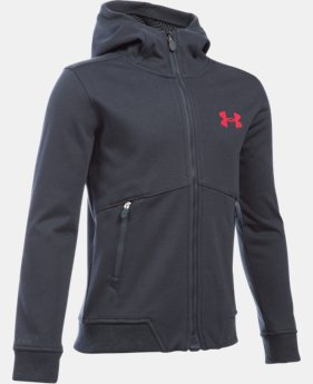 New Arrival  Boys' UA Storm Dobson Softshell  1 Color $114.99