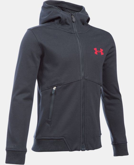 New Arrival  Boys' UA Storm Dobson Softshell LIMITED TIME: FREE SHIPPING 1 Color $114.99