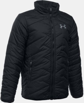 New Arrival Boys' UA ColdGear® Reactor Jacket LIMITED TIME: FREE U.S. SHIPPING  $99.99