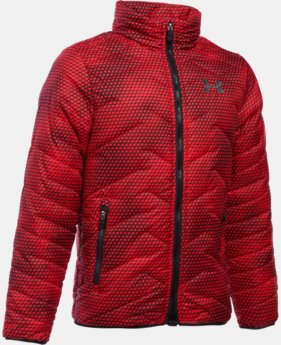 New Arrival  Boys' UA ColdGear® Reactor Jacket LIMITED TIME: FREE SHIPPING 6 Colors $114.99