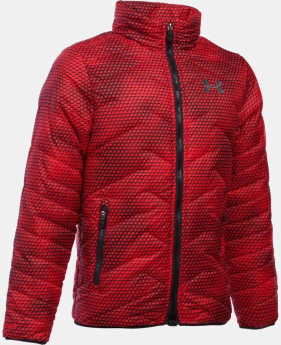 New Arrival  Boys' UA ColdGear® Reactor Jacket LIMITED TIME: FREE SHIPPING  $114.99