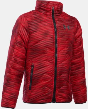 New Arrival  Boys' UA ColdGear® Reactor Jacket LIMITED TIME: FREE SHIPPING 2 Colors $114.99