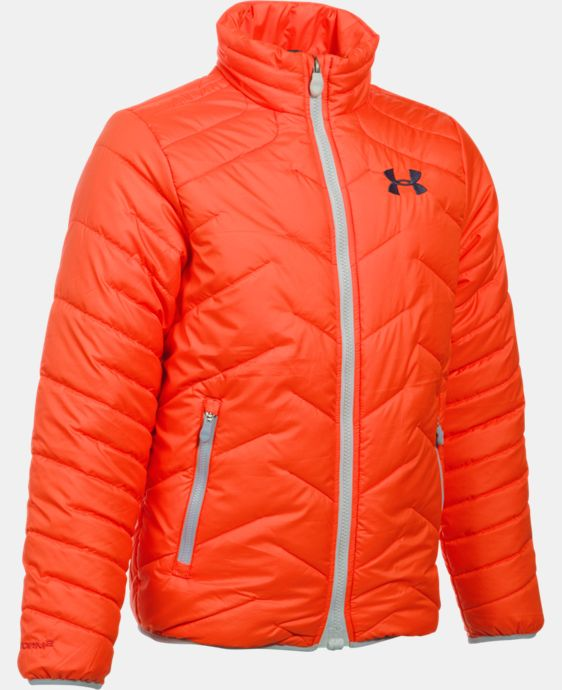 New Arrival  Boys' UA ColdGear® Reactor Jacket  4 Colors $114.99