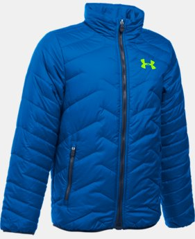 New Arrival  Boys' UA ColdGear® Reactor Jacket LIMITED TIME: FREE SHIPPING 1 Color $114.99