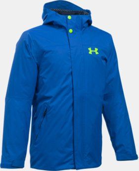 New Arrival  Boys' ColdGear® Reactor Wayside 3-in-1 Jacket  4 Colors $194.99