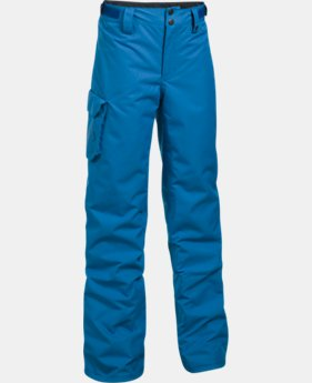 Boys' UA Storm Chutes Insulated Pants  1  Color Available $86.99