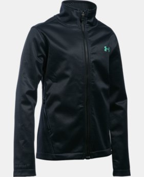 Girls' UA ColdGear® Infrared Softershell Jacket  1 Color $59.99