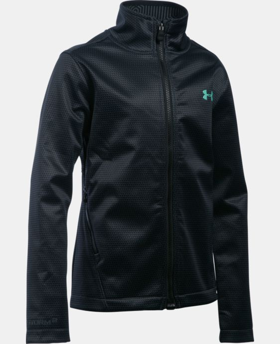 New Arrival  Girls' UA ColdGear® Infrared Softershell Jacket  1 Color $114.99