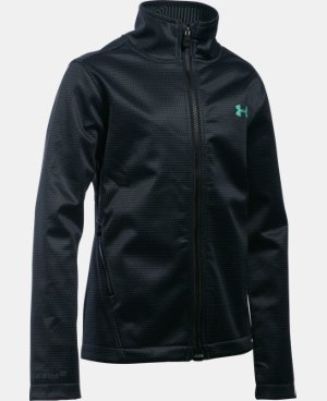 New Arrival  Girls' UA ColdGear® Infrared Softershell Jacket   $114.99