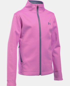 Girls' UA ColdGear® Infrared Softershell Jacket  2 Colors $44.99