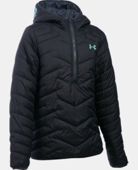 Girls' UA ColdGear® Reactor Anorak  1 Color $53.99