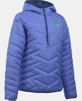 Girls' UA ColdGear® Reactor Anorak LIMITED TIME: FREE U.S. SHIPPING 1 Color $89.99