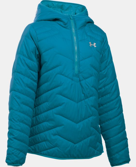 Girls' UA ColdGear® Reactor Anorak LIMITED TIME: FREE SHIPPING 2 Colors $104.99