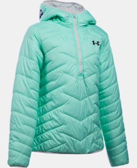 New Arrival  Girls' UA ColdGear® Reactor Anorak   $104.99