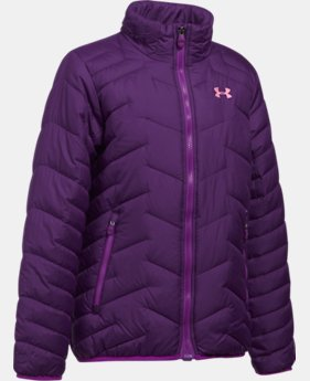 Girls' UA ColdGear® Reactor Jacket  1 Color $114.99