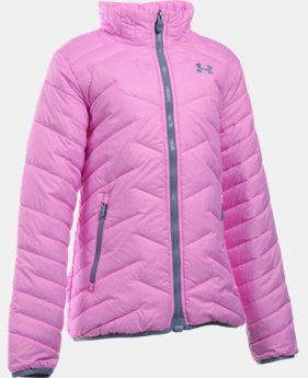 Girls' UA ColdGear® Reactor Jacket LIMITED TIME: FREE U.S. SHIPPING 2 Colors $99.99