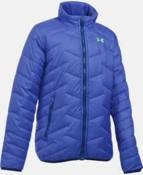 New Arrival  Girls' UA ColdGear® Reactor Jacket  1 Color $114.99