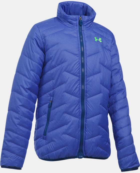 New Arrival  Girls' UA ColdGear® Reactor Jacket LIMITED TIME: FREE SHIPPING 1 Color $114.99