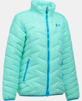 New to Outlet Girls' UA ColdGear® Reactor Jacket  1  Color $59.99 to $74.99