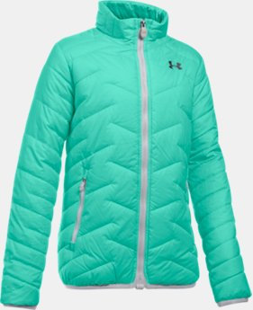 New Arrival Girls' UA ColdGear® Reactor Jacket  1 Color $99.99