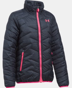 New to Outlet Girls' UA ColdGear® Reactor Jacket  5  Colors $59.99 to $74.99