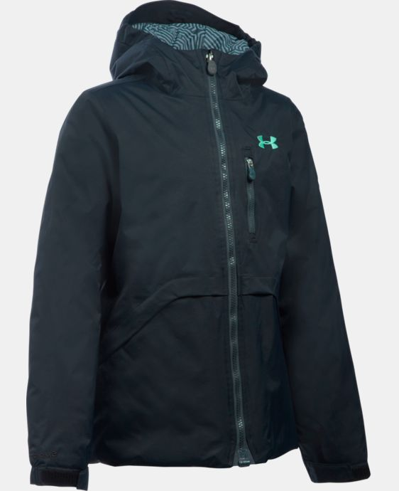 New Arrival Girls' UA ColdGear® Reactor Yonders Jacket LIMITED TIME: FREE U.S. SHIPPING  $129.99