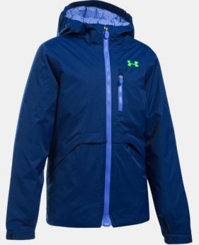 New Arrival  Girls' UA ColdGear® Reactor Yonders Jacket LIMITED TIME: FREE SHIPPING 1 Color $149.99