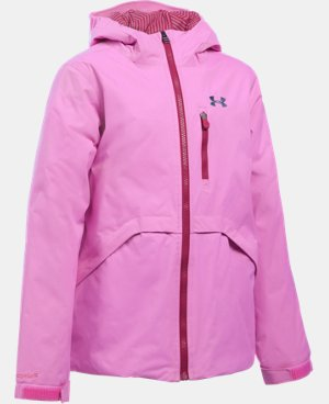 New Arrival  Girls' UA ColdGear® Reactor Yonders Jacket  4 Colors $149.99