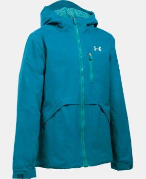New Arrival Girls' UA ColdGear® Reactor Yonders Jacket  1 Color $129.99