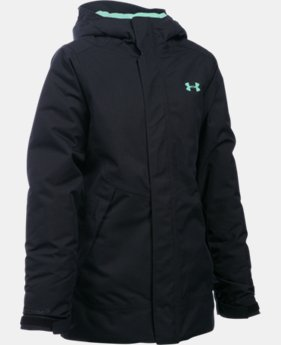 New Arrival  Girls' UA ColdGear® Infrared Powerline Insulated Jacket  1 Color $169.99