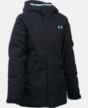 New Arrival  Girls' UA ColdGear® Infrared Powerline Insulated Jacket   $169.99