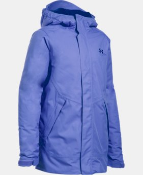 New Arrival Girls' UA ColdGear® Infrared Powerline Insulated Jacket LIMITED TIME: FREE U.S. SHIPPING 1 Color $149.99