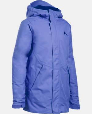 New Arrival Girls' UA ColdGear® Infrared Powerline Insulated Jacket  1 Color $149.99