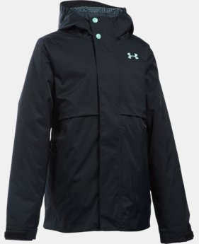 Girls' UA ColdGear® Reactor Wayside 3-in-1 Jacket  1 Color $101.99