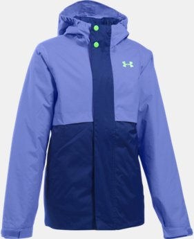 Girls' UA ColdGear® Reactor Wayside 3-in-1 Jacket  3 Colors $127.99