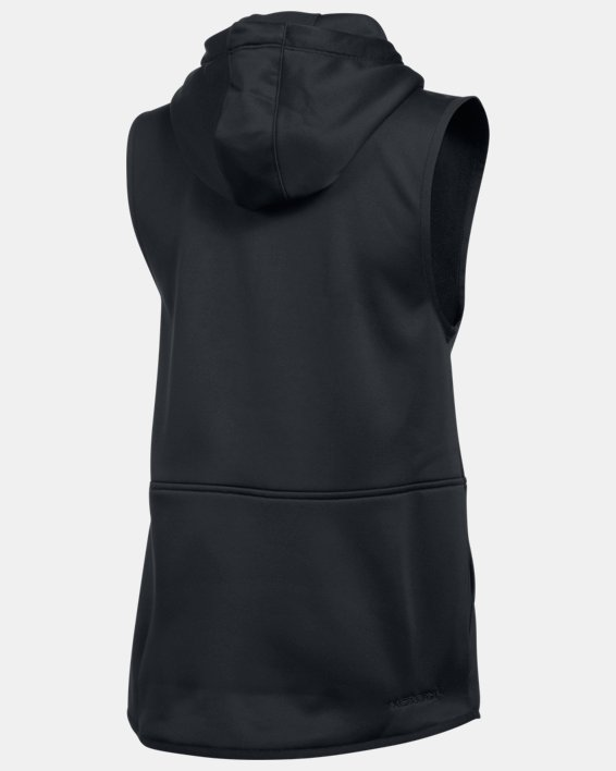 Women's  UA Storm Lightweight Armour Fleece® Vest, Black, pdpMainDesktop image number 4