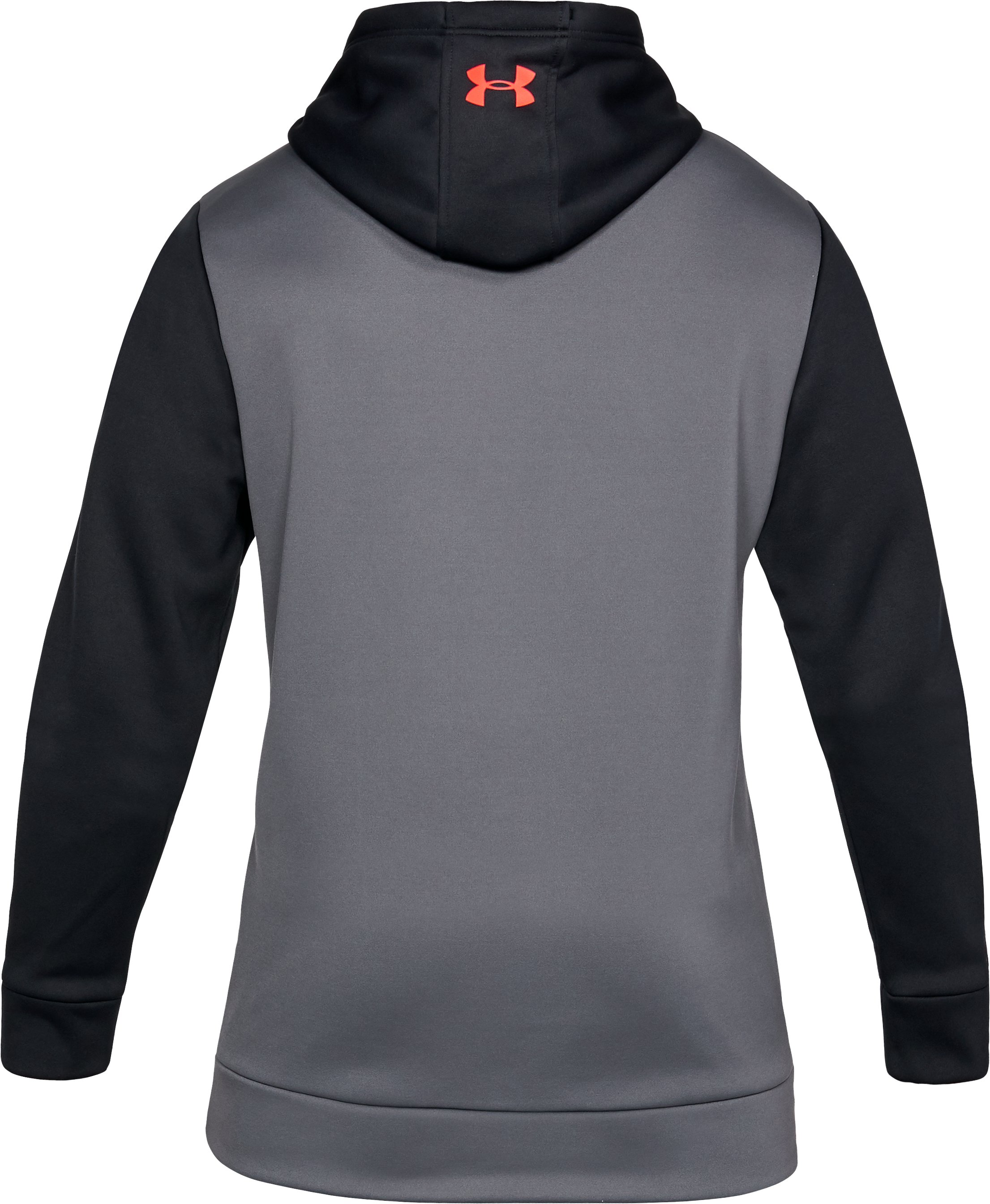Men's UA Storm Armour Fleece® Hoodie, Black , undefined