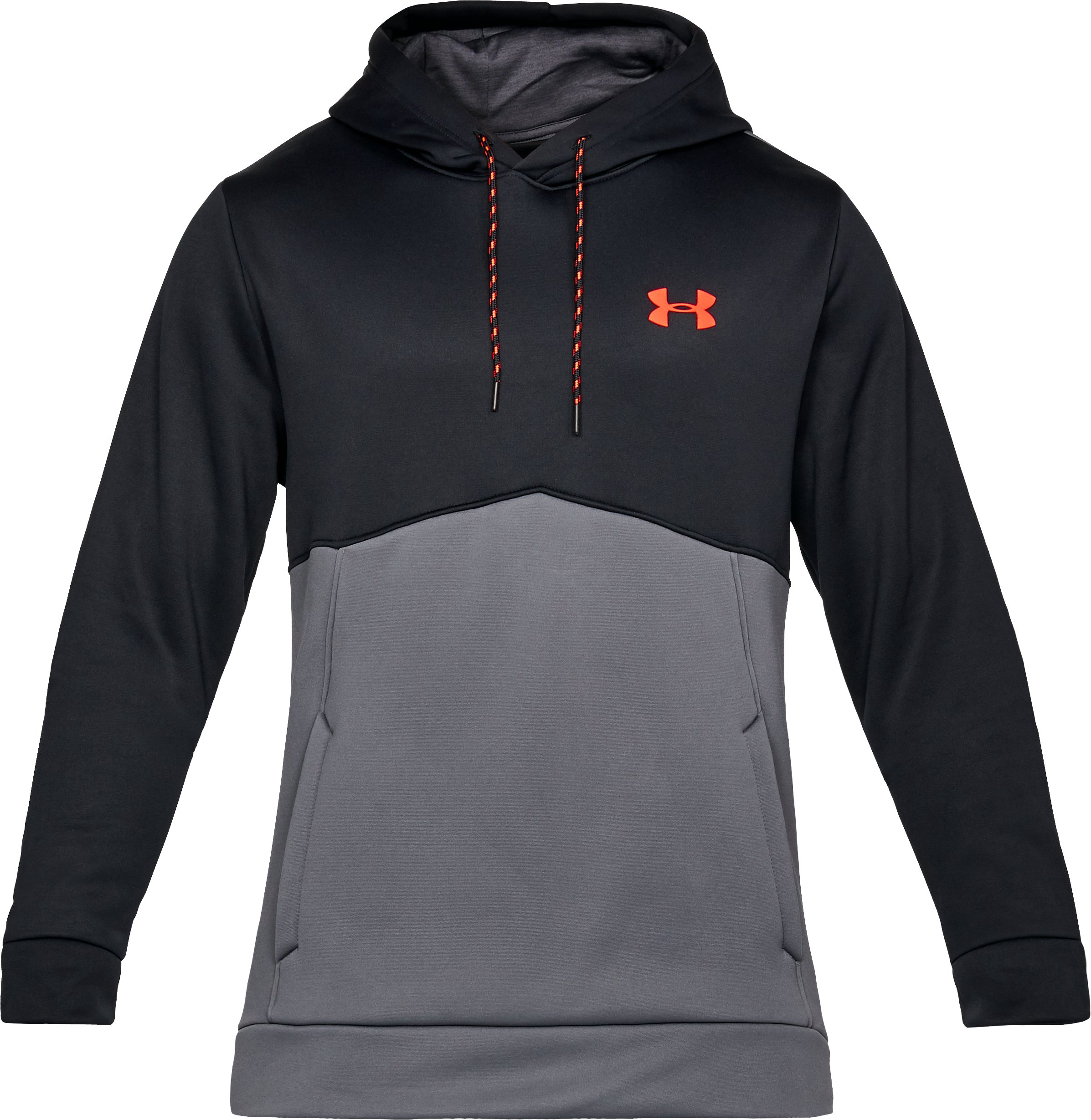 Men's UA Storm Armour Fleece® Hoodie, Black ,