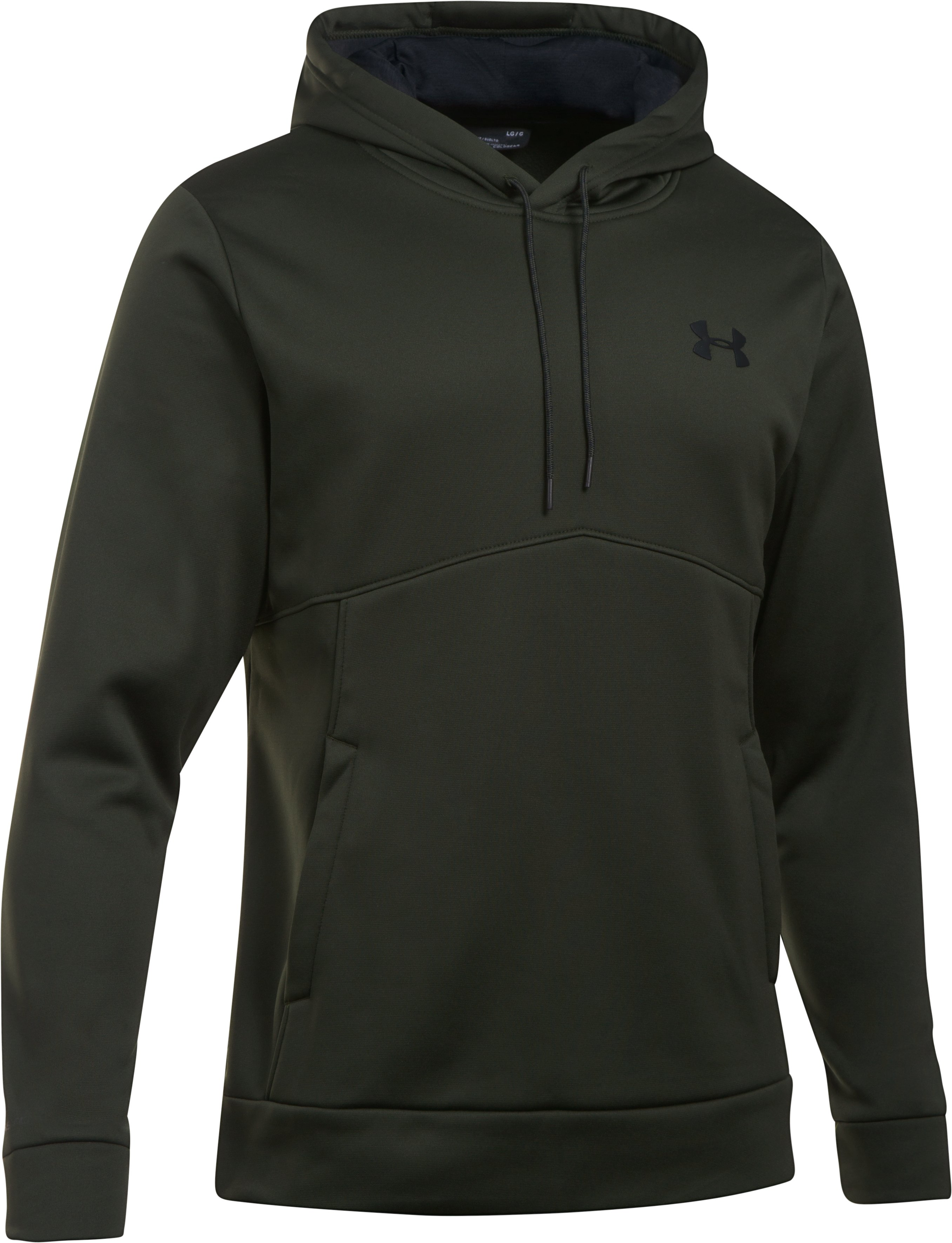 Men's UA Storm Armour® Fleece Hoodie, Artillery Green