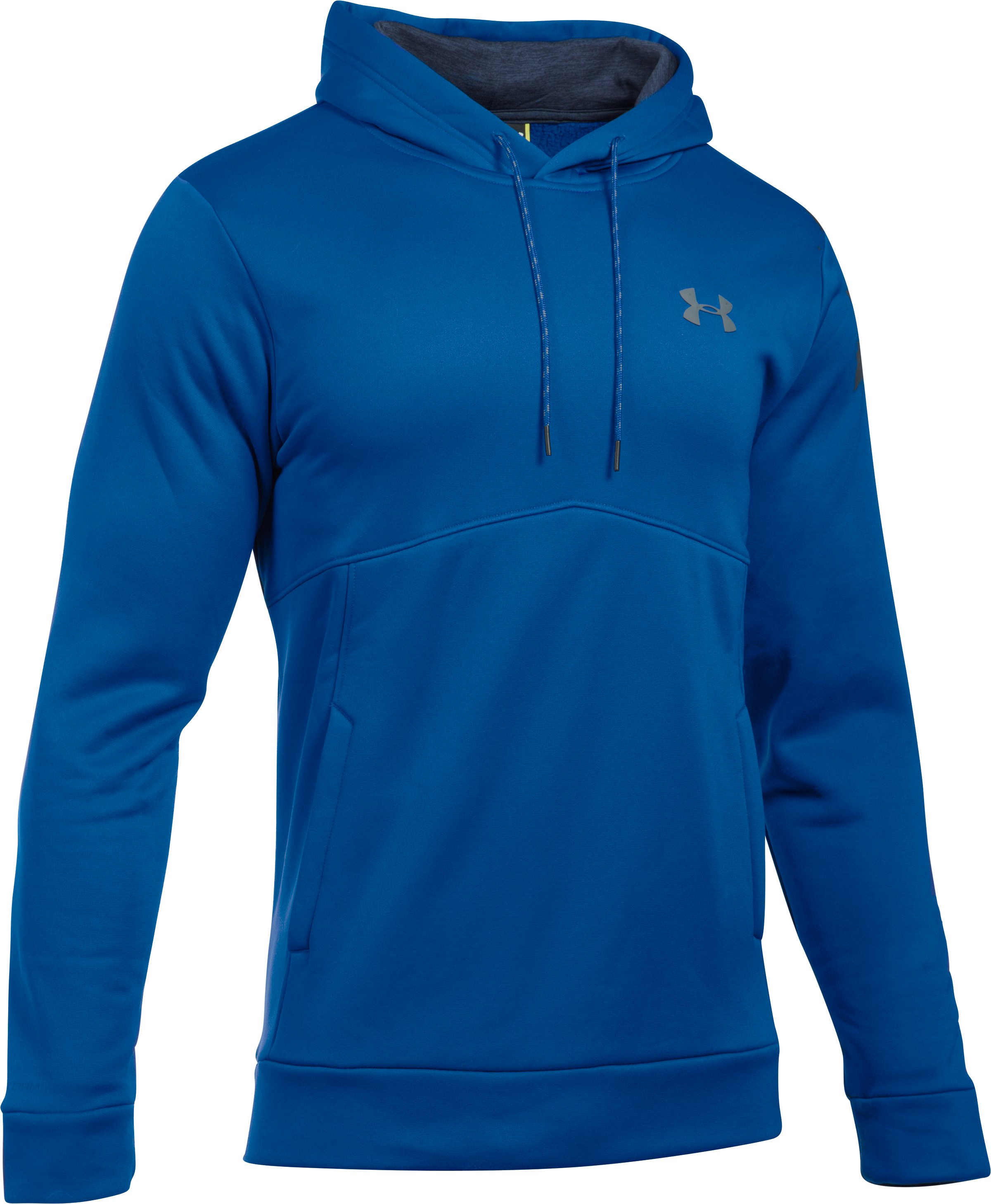 Men's UA Storm Armour® Fleece Hoodie, Royal