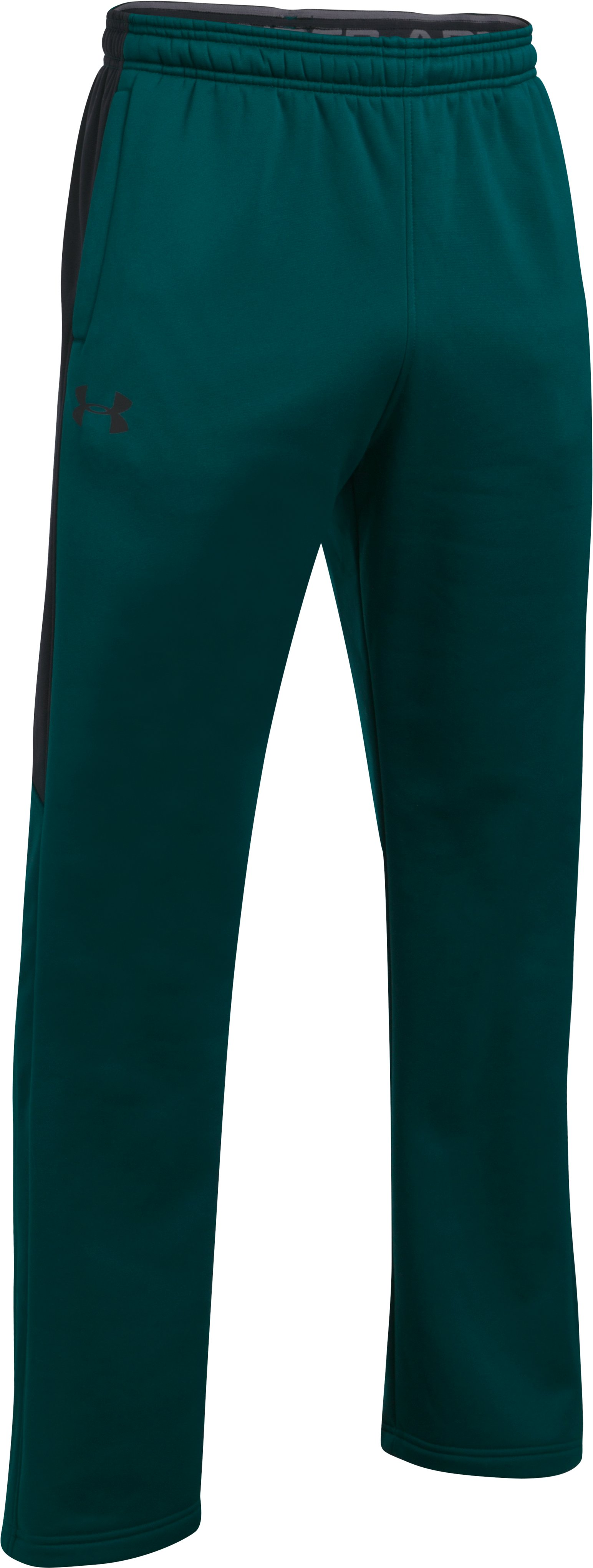 Men's UA Storm Armour Fleece® Pants, ARDEN GREEN, undefined